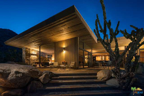 50. Iconic midcentury modern: The Edris House by E Stewart Williams in Palm Springs, California, USA