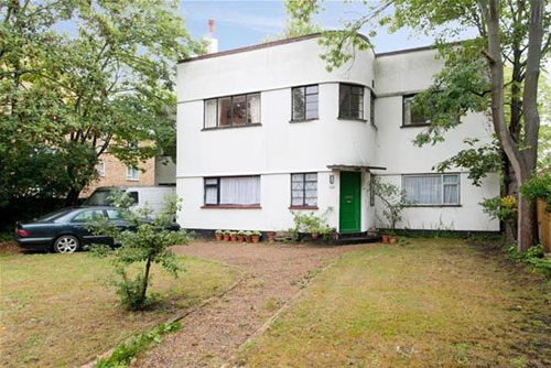 Six-bedroom 1930s art deco house in Blackheath, South East London