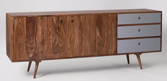 6. Noah limited edition rosewood sideboard at Swoon Editions