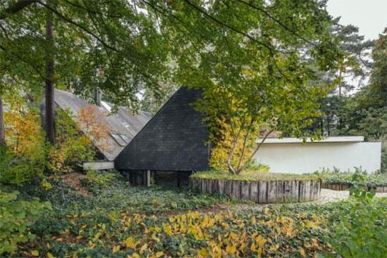 7. 1970s Gerard Cools-designed brutalist property in Westerlo, Belgium