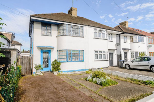 7. Time capsule for sale: 1930s three-bedroom property in Enfield, north London