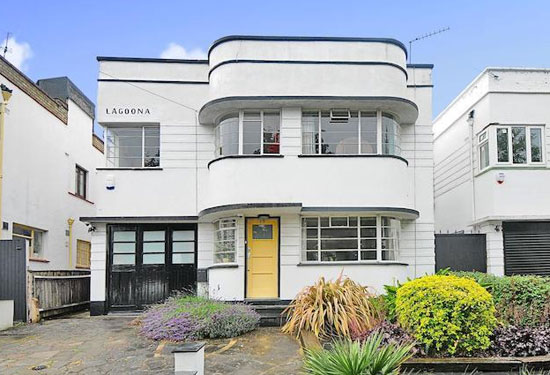 7. Four-bedroom 1930s art deco property in Southgate, London N14