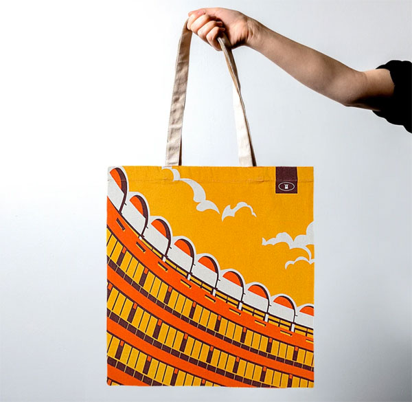7. Barbican tote bags by Dorothy