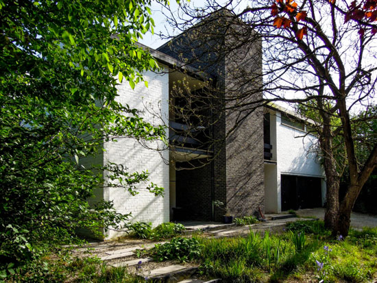 8. 1960s modernist property in Uccle, Belgium