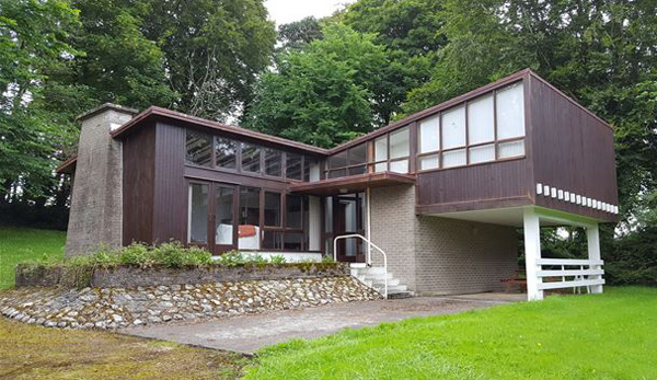 8. Affordable modernism: 1960s four-bedroom property in Williamstown, Whitegate, County Clare, Ireland