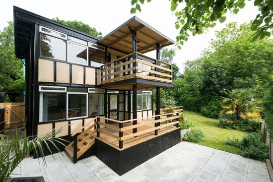 Walter Segal-designed modernist property in London SE23