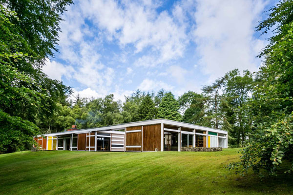 9. 1950s midcentury modern: Peter Womersley-designed Klein House in Selkirk, Scottish Borders