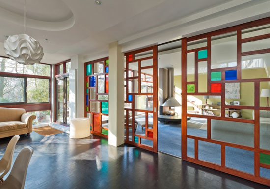 9. Duplex apartment in the 1960s Dinerman, Davison & Hillman-designed Copper Beech in London N6