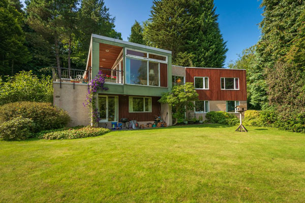9. 1960s midcentury modern house in Rait, Perth and Kinross, Scotland