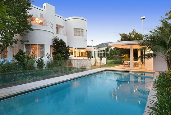 On the market: Chateau Nous 1930s listed art deco property in Ascot, Queensland, Australia