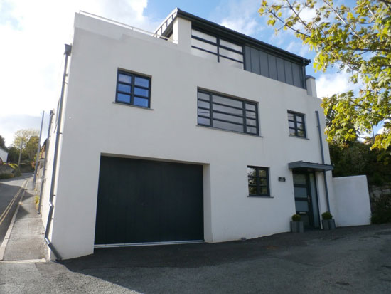 Art deco-style property in Tavistock, Devon