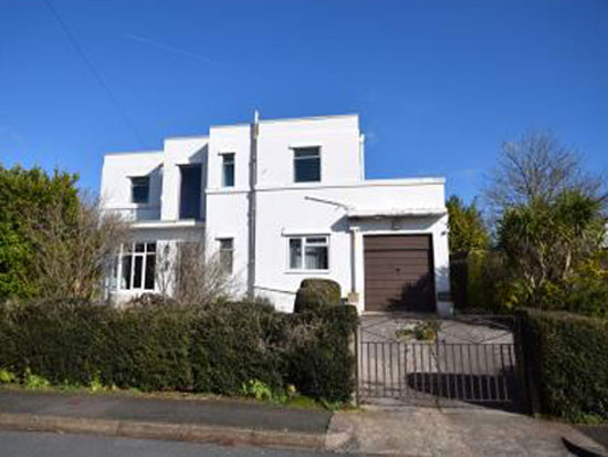 Up for auction: 1930s art deco property in Torquay, Devon