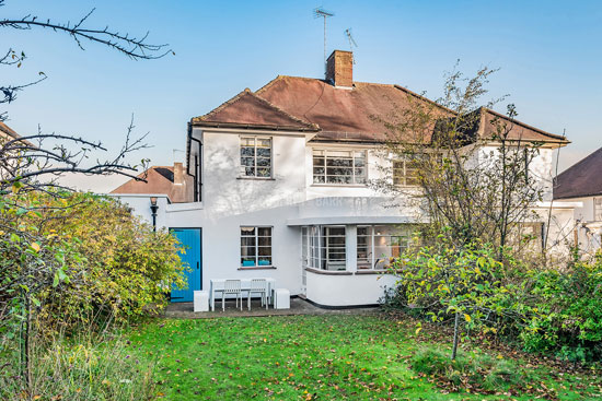 1930s art deco house in the Hampstead Garden Suburb, London NW11