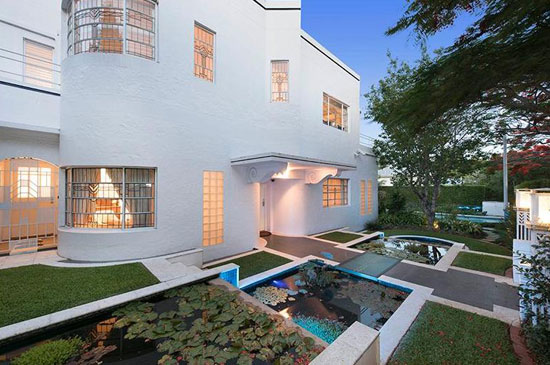 Chateau Nous 1930s listed art deco property in Ascot, Queensland, Australia