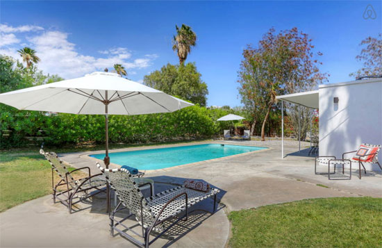 1950s William Krisel-Designed midcentury modern property in Palm Springs, California, USA