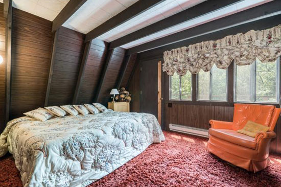 Time capsule for sale: 1970s A-frame holiday home in Midway, Utah, USA