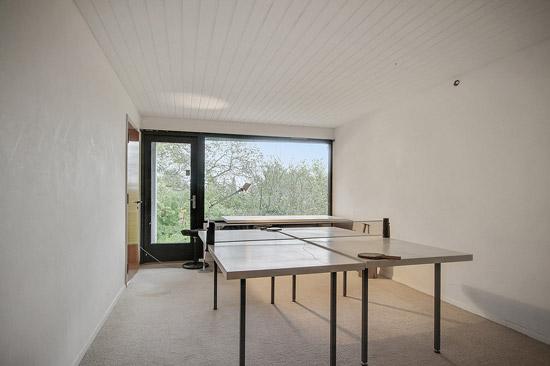 1950s Kjeld Dirckinck-Holmfel midcentury modern property in Aalborg, Denmark