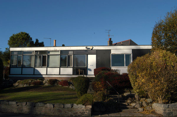 1960s modern house in Aberdeen, Scotland