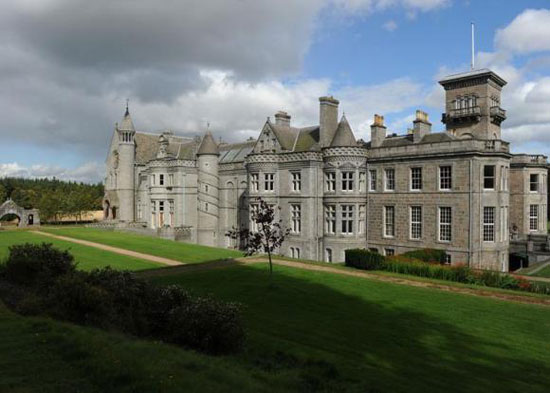 24-bedroom Dunecht House stately home in Westhill, Aberdeenshire