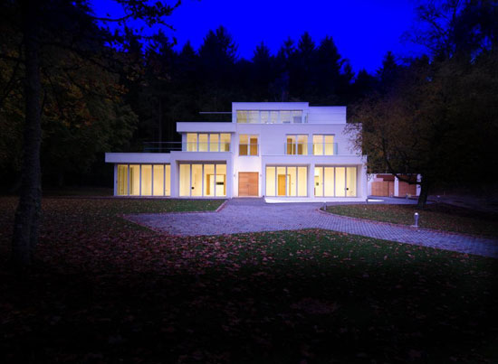The Clark contemporary modernist property in Aberdeen, north east Scotland
