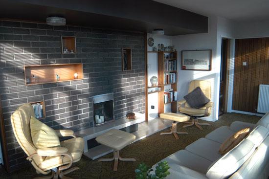 1960s modern house in Aberdeen, Scotland