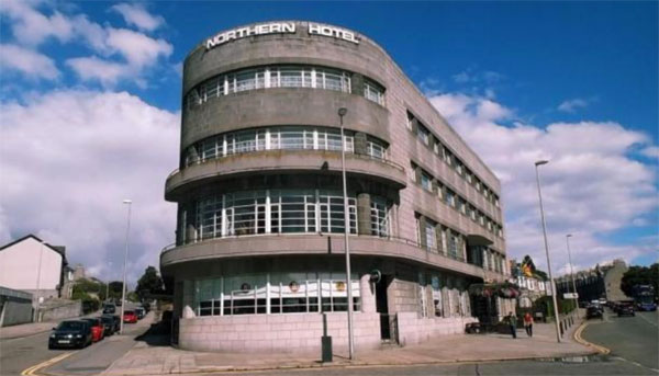 1930s art deco Northern Hotel in Aberdeen, Scotland
