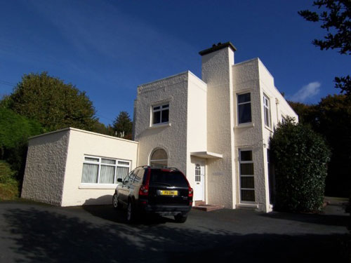 On the market: Six-bedroomed Nantmelyn art deco house in Llangawsai, Aberystwyth, Ceredigion, Wales