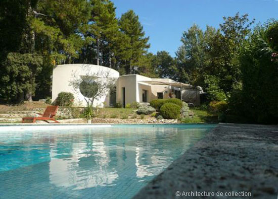 On the market: 1980s Georges Adilon-designed modernist property in Montelimar, south east France