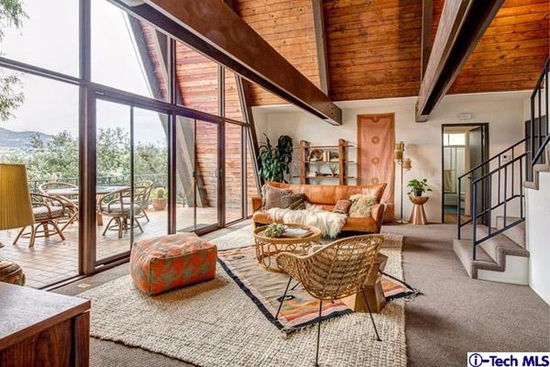 1960s A-frame: Three-bedroom property in Los Angeles, California, USA