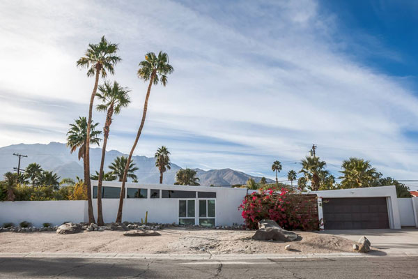 10. 1950s midcentury modern Alexander property in Palm Springs, California, USA
