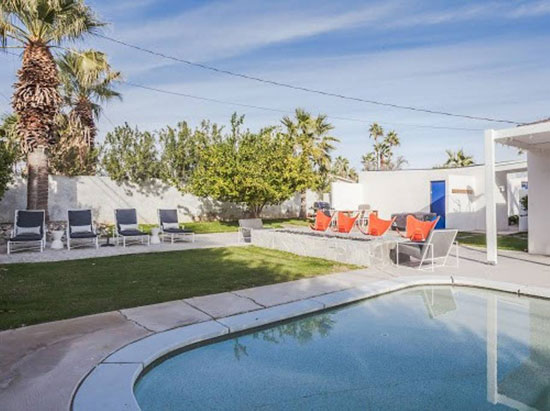 Airbnb find: 1950s midcentury modern Alexander property in Palm Springs, California, USA
