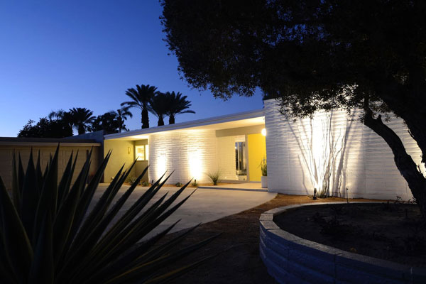 9. 1960s midcentury modern property in Bermuda Dunes, California, USA