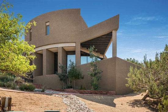 On the market: 1970s Antoine Predock-designed modernist property in Albuquerque, New Mexico, USA