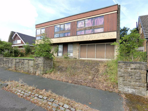 1970s modern renovation project in Almondbury, West Yorkshire
