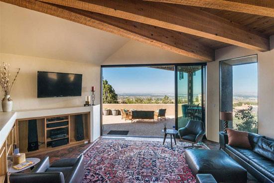 1970s Antoine Predock-designed modernist property in Albuquerque, New Mexico, USA
