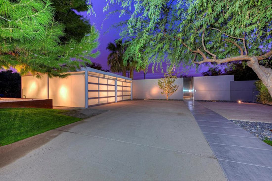 On the market: 1960s Al Beadle-designed midcentury modern property in Phoenix, Arizona, USA
