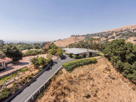 1950s Allen Walter-designed midcentury modern property in San Jose, California, USA