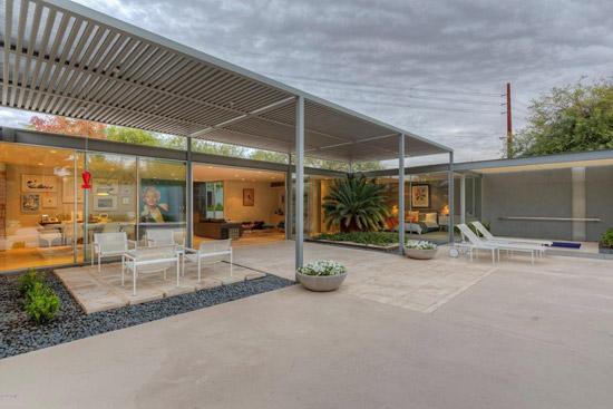 1960s Al Beadle-designed midcentury modern property in Phoenix, Arizona, USA