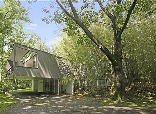 1950s Edward Barnes-designed modernist property in Alpine, New Jersey, USA
