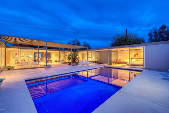 1960s Al Beadle-designed midcentury modern property in Phoenix, Arizona, USA