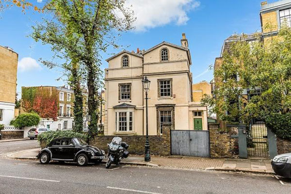 Alan Bennett's grade II-listed Victorian house in London NW1