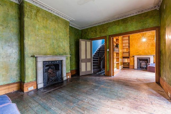On the market: Alan Bennett's former grade II-listed Victorian property in London NW1