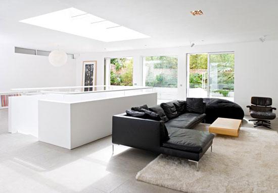 Alex Michaelis-designed contemporary modernist property in London W10
