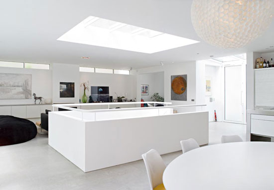 Alex Michaelis-designed contemporary modernist property in London W10