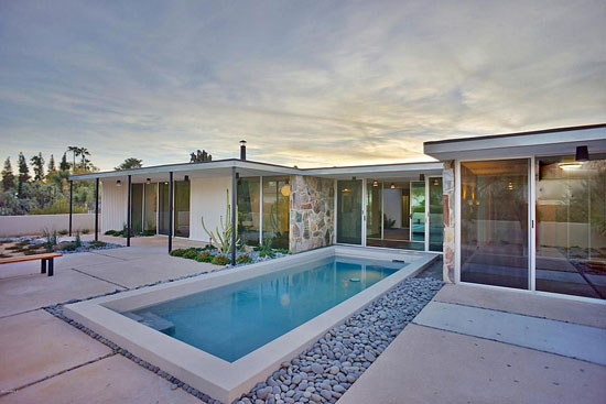 On the market: 1950s Alfred Newman Beadle-designed midcentury modern property in Paradise Valley, Arizona, USA