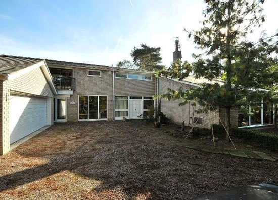 On the market: Ashley House 1970s three-bedroom property in Ashley, near Altrincham, Cheshire