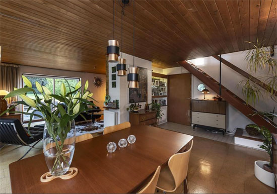 1950s modern house in Harpenden, Hertfordshire