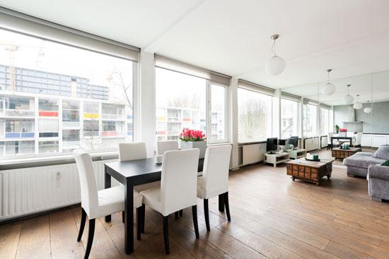 1950s Allert Warners De Warnersblokken apartment in Amsterdam, Holland