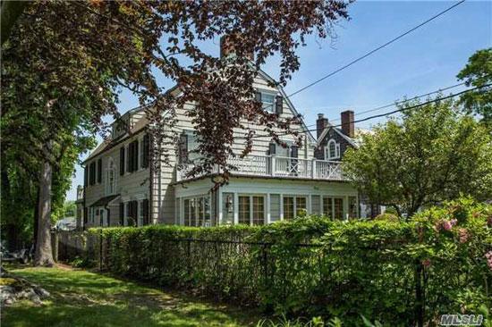 The Amityville Horror house in Amityville, New York, USA