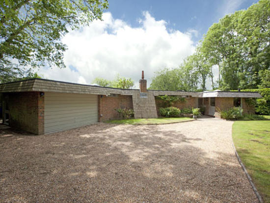 On the market: 1970s Michael Blee-designed Byron House in Ansty, West Sussex
